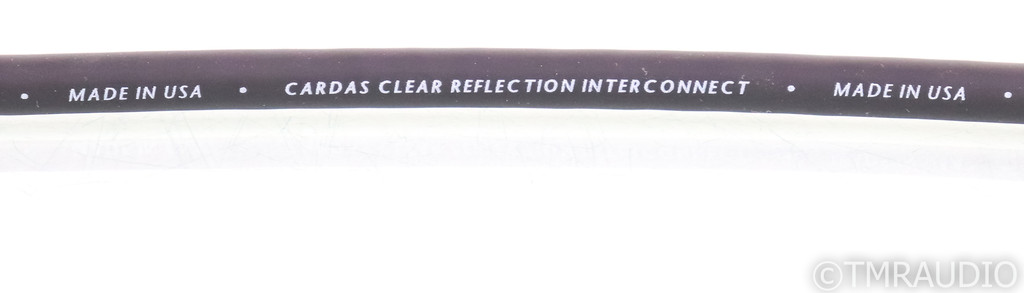 Cardas Clear Reflection XLR Cables; 1.5m Pair Balanced Interconnects