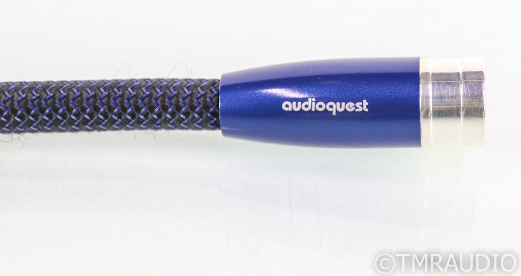 AudioQuest Water XLR Cables; 1.5m Pair Balanced Interconnects; 72v DBS (1/2)