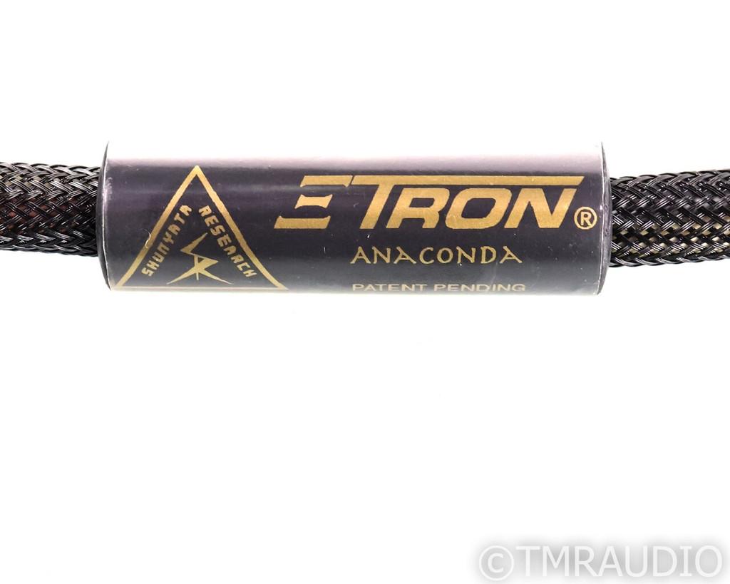 Shunyata Research Zitron Anaconda XLR Cables; 1.5m Pair Balanced Interconnects