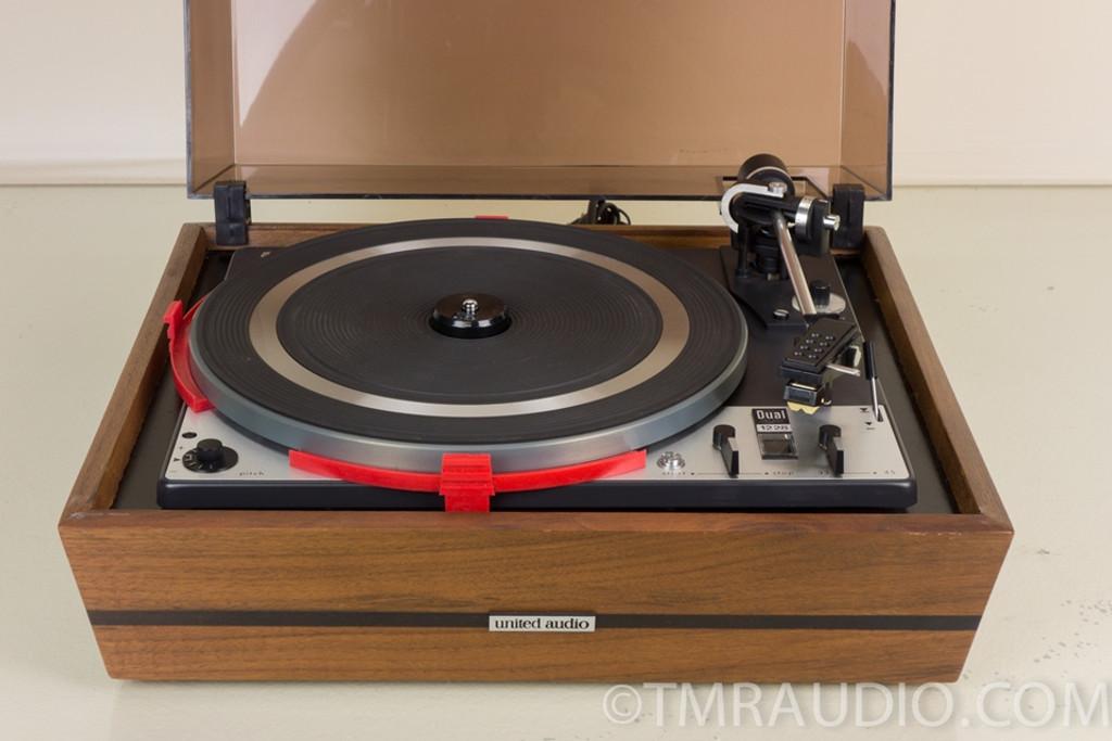Bardzo dobryFantastyczny Dual 1228 Vintage Turntable / Record Player - The Music Room ZF09