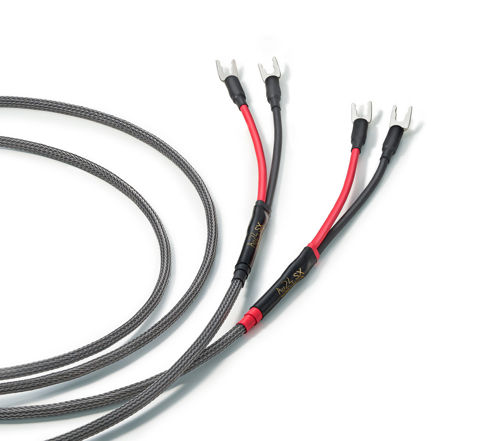 Audience Au24 SX Loudspeaker Cables; Pair; New w/ Full Warranty