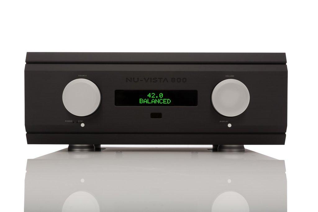 Musical Fidelity Nu-Vista 800 Integrated Amplifier;  Black (New w/ Warranty)