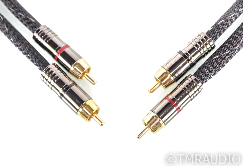 Morrow Audio MA-3 RCA Cables; 1m Pair Interconnects; MA3