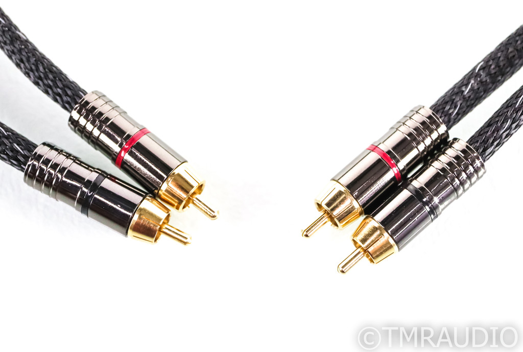 Morrow Audio MA-2 RCA Cables; 1m Pair Interconnects; MA2