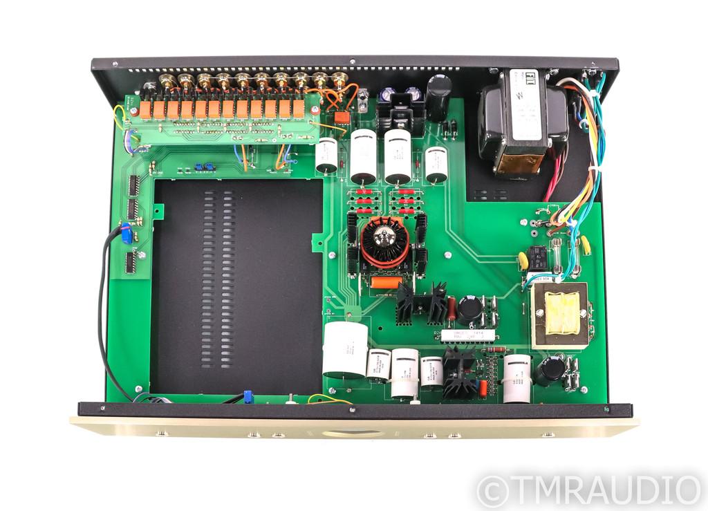 Conrad Johnson ET3-SE Stereo Tube Preamplifier; ET3SE; Remote