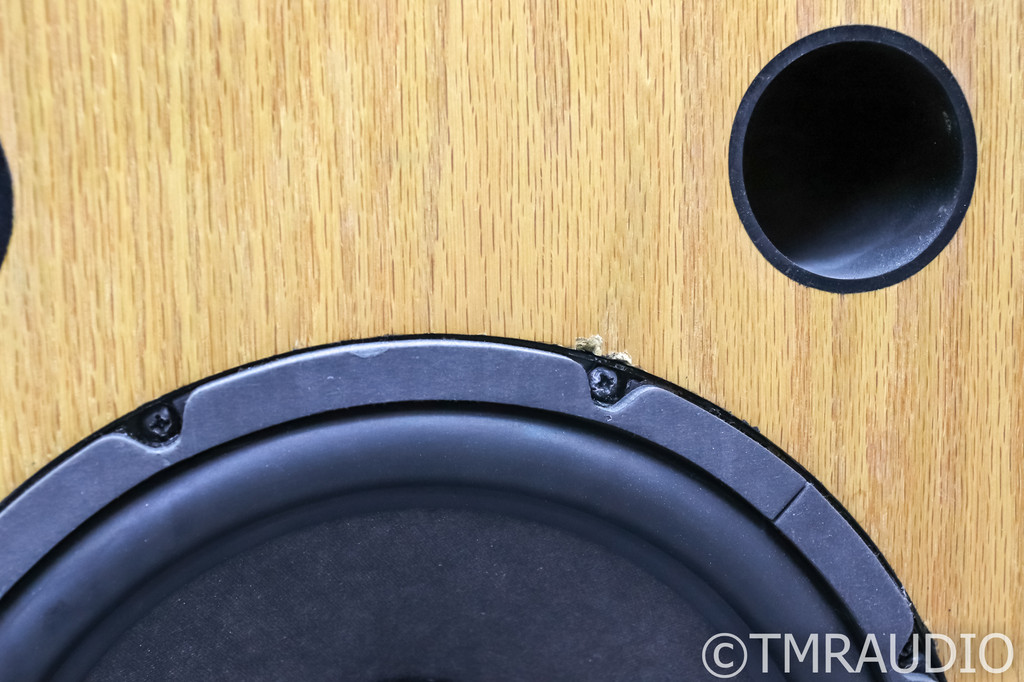 Conrad Johnson Synthesis SRS Vintage Speaker System; (2 bad woofers)