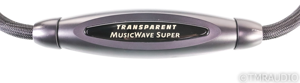 Transparent Audio MusicWave Super MM Speaker Cables; 3m Pair