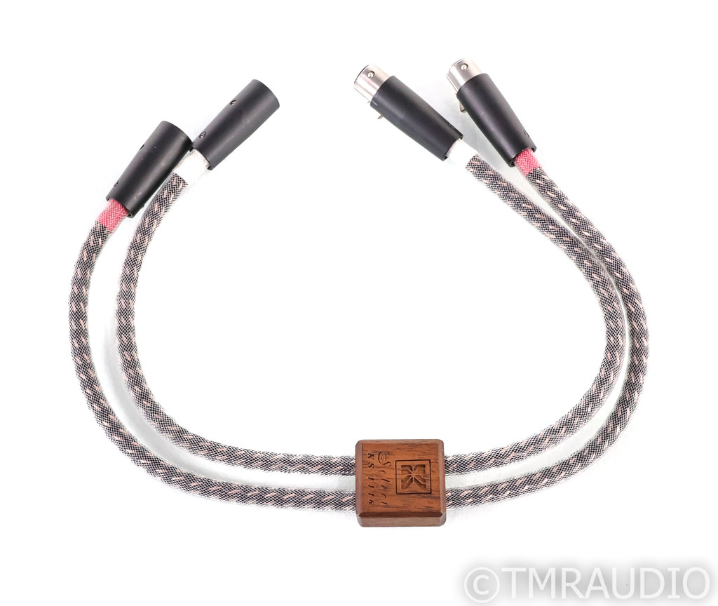 Kimber Kable KS 1116 XLR Cables; KS1116; 0.5m Pair Balanced Interconnects