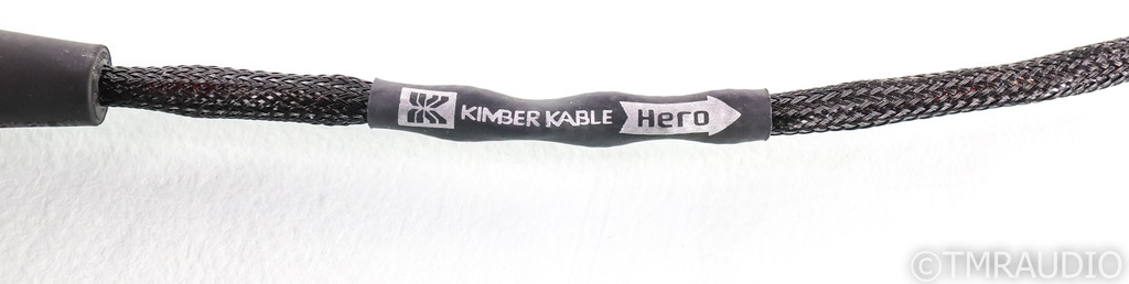 Kimber Kable Hero XLR Cable; Single 3.5m Balanced Interconnect