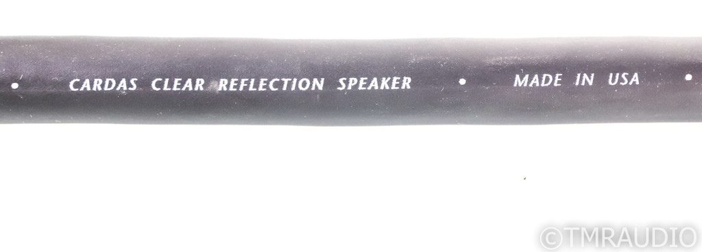 Cardas Clear Reflection Speaker Cables; 3m Pair