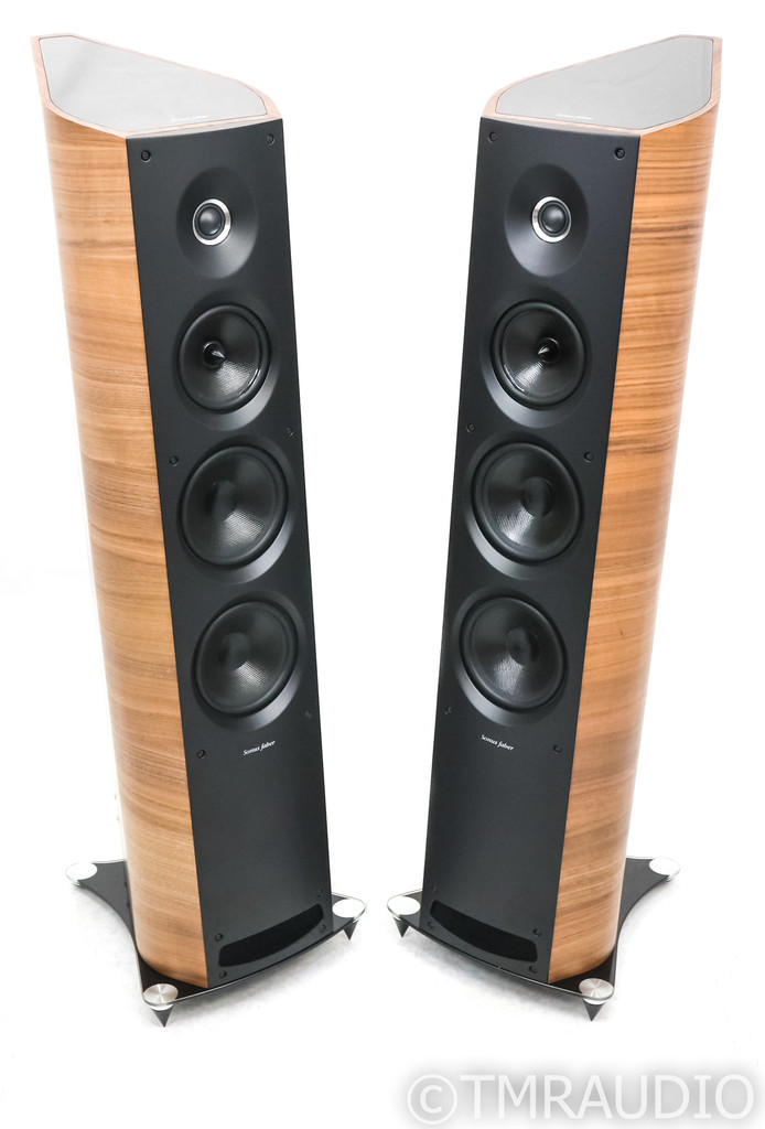 Sonus Faber Venere 3.0 Floorstanding Speakers; Walnut Wood Pair