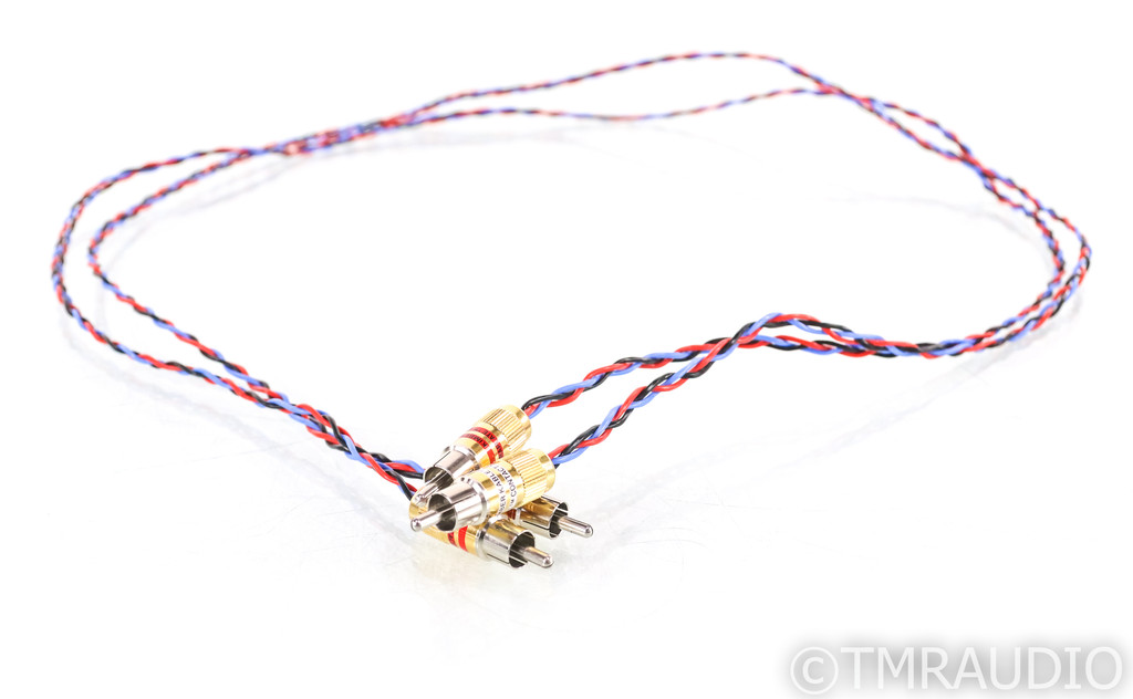Kimber Kable PBJ RCA Cables; 1m Pair Interconnects