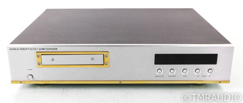 Musical Fidelity A3 24-Bit CD Player; A3CD (No Remote)