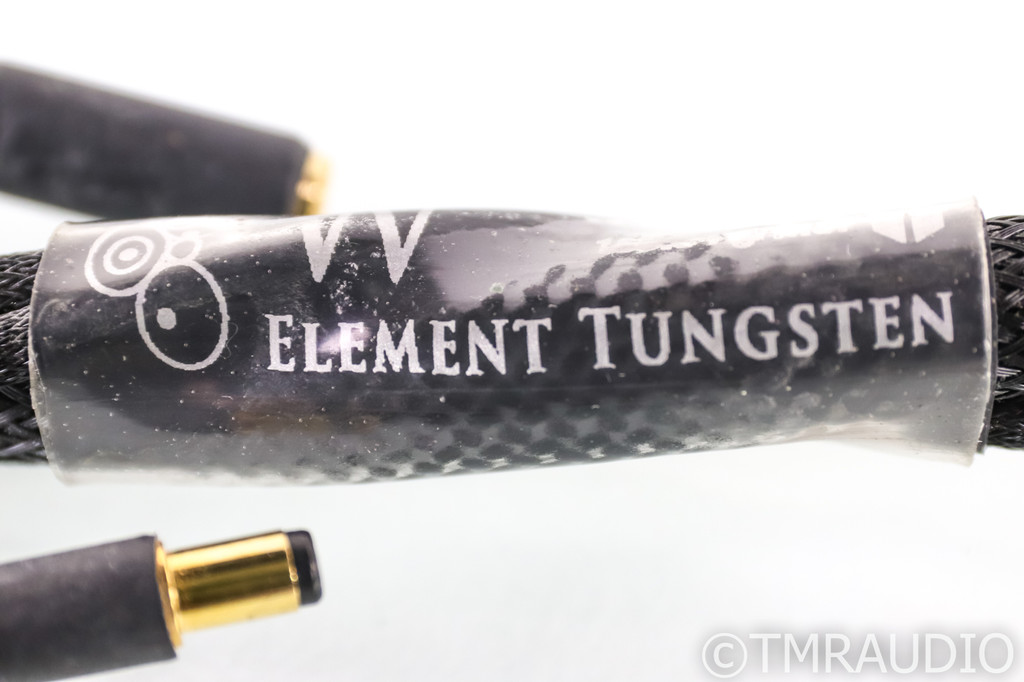 Synergistic Research Element Tungsten Speaker Cables; 8ft Pair; 30V MPC