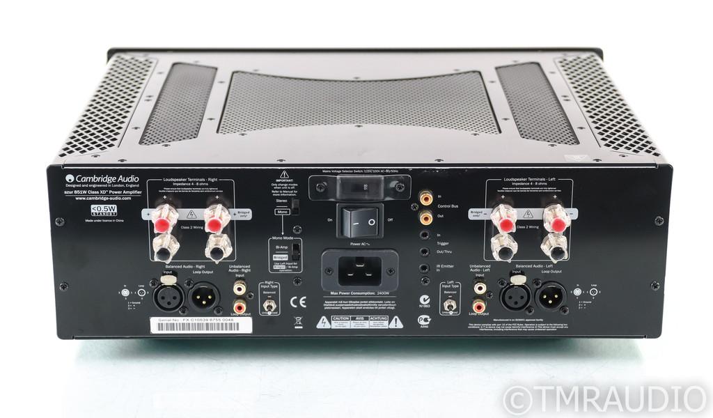 Cambridge Audio Azur 851W Stereo Power Amplifier; 851-W Black