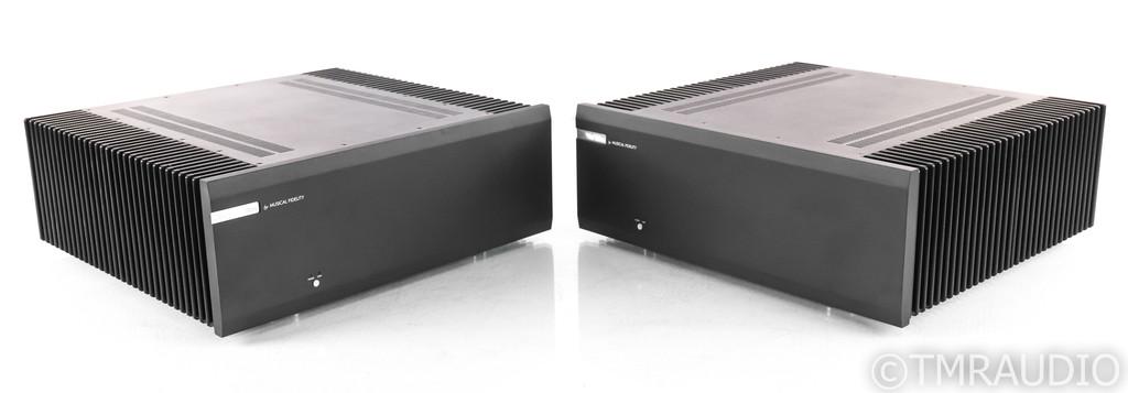 Musical Fidelity M8s700m Mono Power Amplifier; M8S-700M; Black Pair