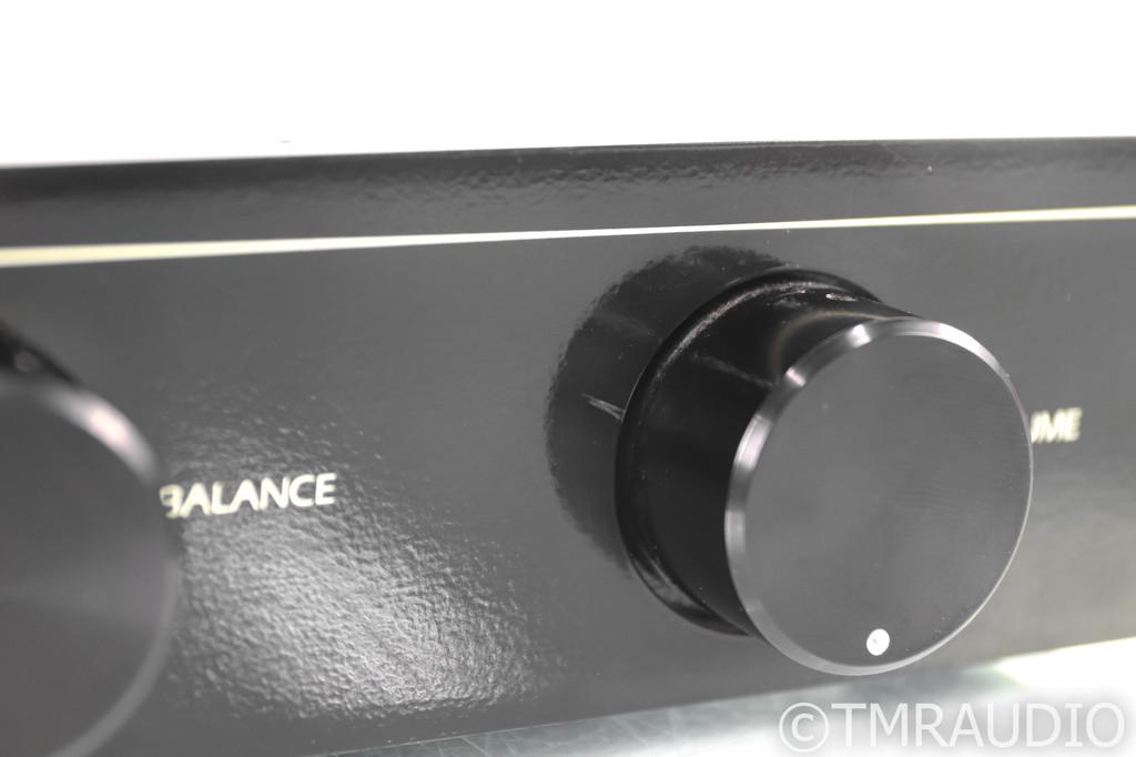 The Mod Squad Line Drive Vintage Passive Stereo Preamplifier; Black