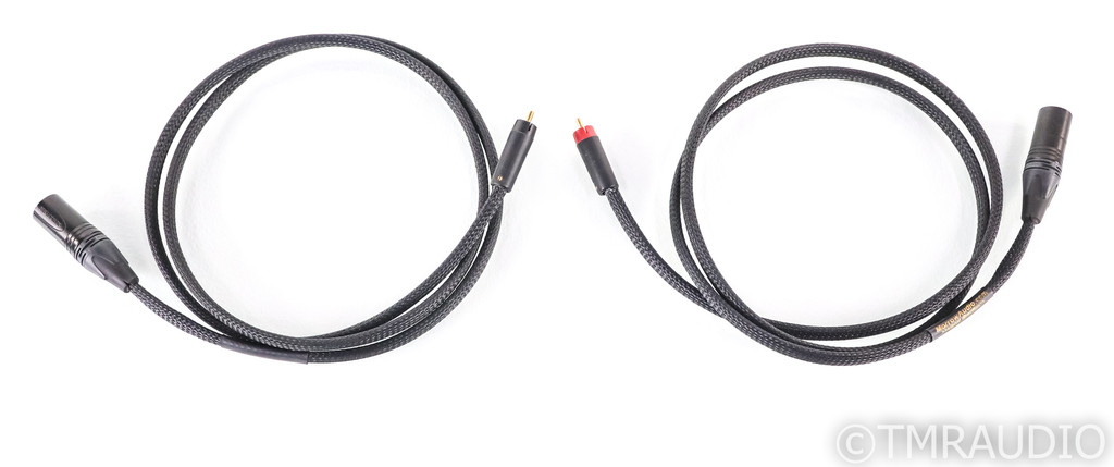Morrow Audio MA6 RCA to XLR Cables; 1.5m Pair Interconnects