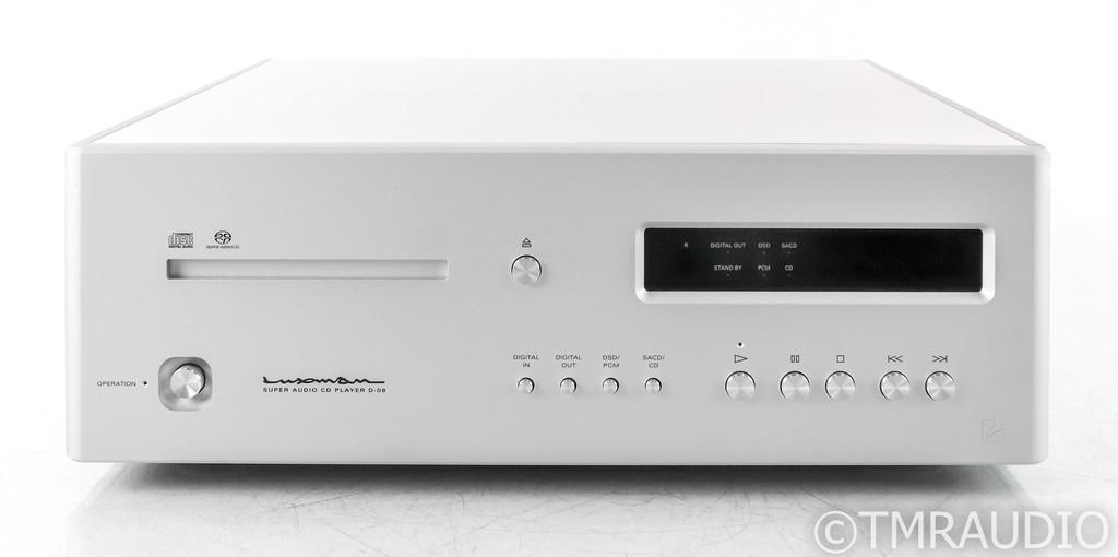 Luxman D-08 CD / SACD Player; D08; Remote; Silver