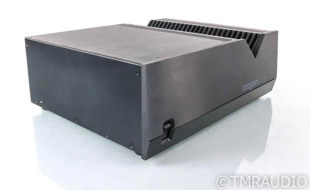 Aragon 8008ST Dual Mono Power Amplifier; 8008 ST; Black