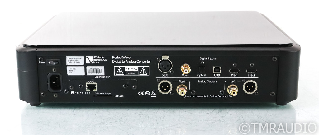 PS Audio PerfectWave DirectStream DAC; D/A Converter; Bridge II Expansion (Used)