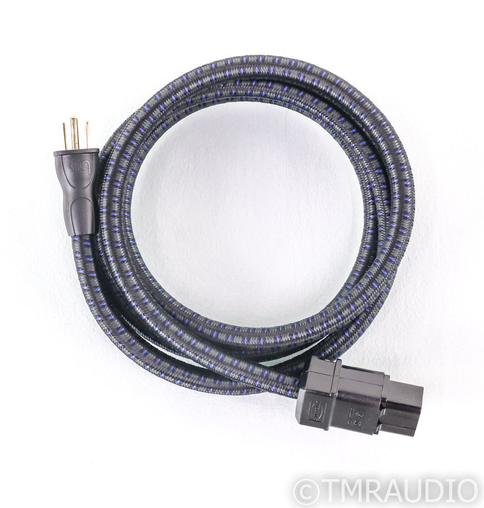 AudioQuest NRG-4 Power Cable; 6ft AC Cord; NRG4; C19