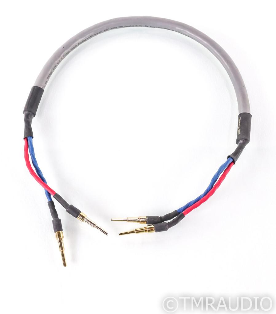"Tara Labs RSC Prime 500 Single Speaker Cable; 34"" Single Channel"