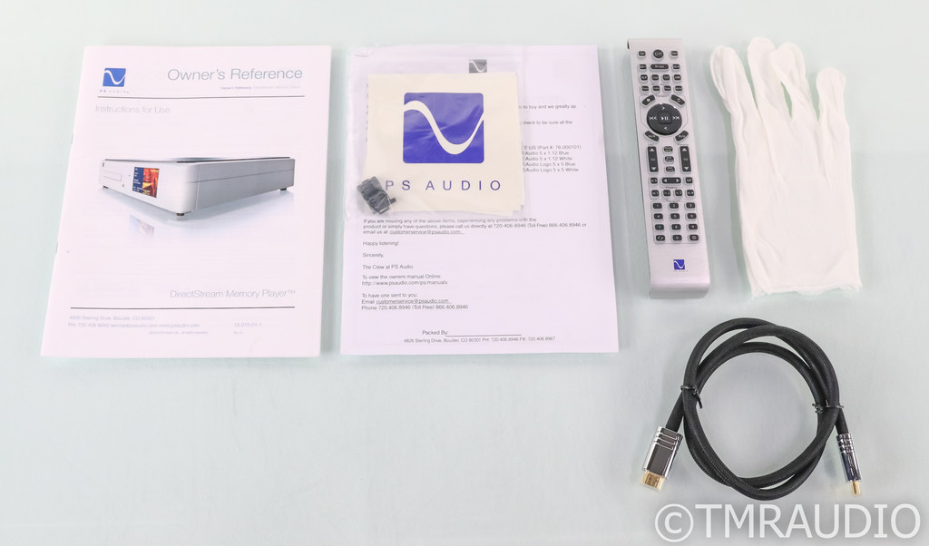 PS Audio DirectStream Memory Player SACD/CD Transport; Remote; DMP (Used)