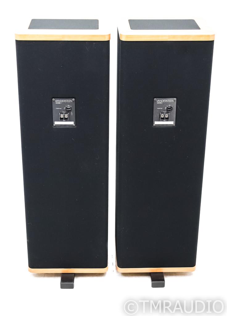 Vandersteen 1Ci Floorstanding Speakers; Cherry Pair w/ Stands; 1-Ci