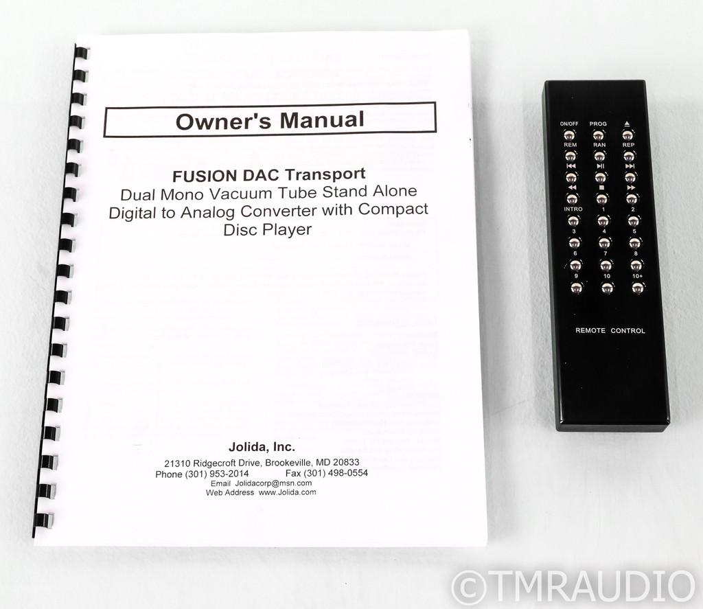 Black Ice Audio Fusion DAC / CD Player; D/A Converter; Remote; Jolida