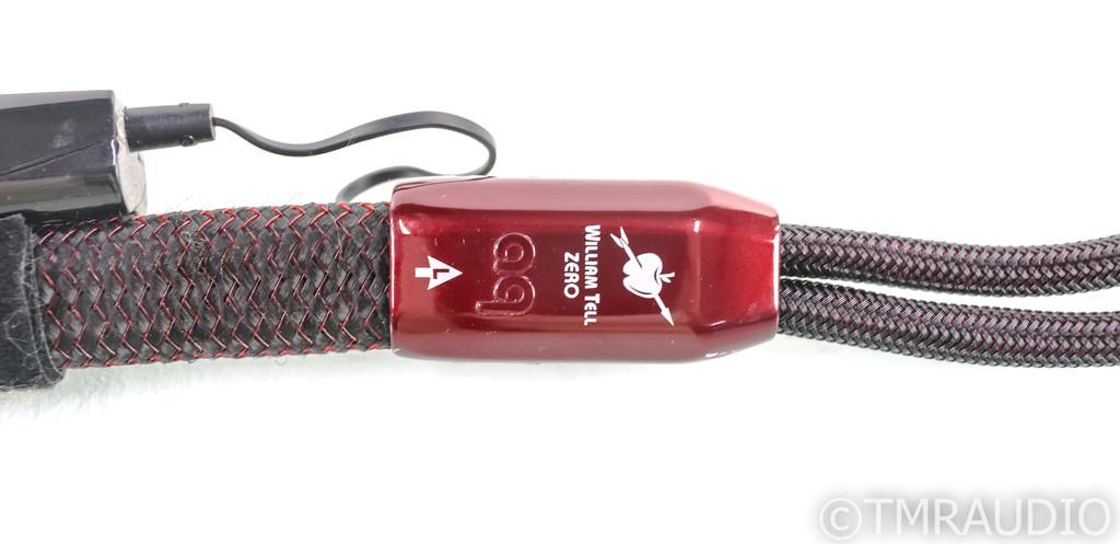 AudioQuest William Tell ZERO Speaker Cables; 8ft Pair; 72v DBS