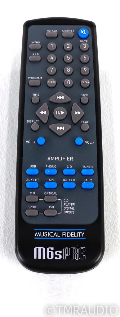 Musical Fidelity M6sPRE Stereo Preamplifier; M-6s; Silver (Open Box w/ Warranty)