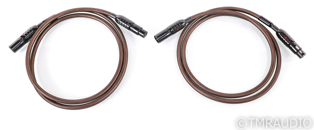 Wireworld Eclipse 7 XLR Cables; 1.5m Pair Balanced Interconnects