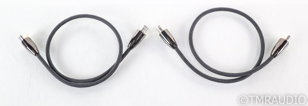 AudioQuest Yukon XLR Cables; .75m Pair Balanced Interconnects