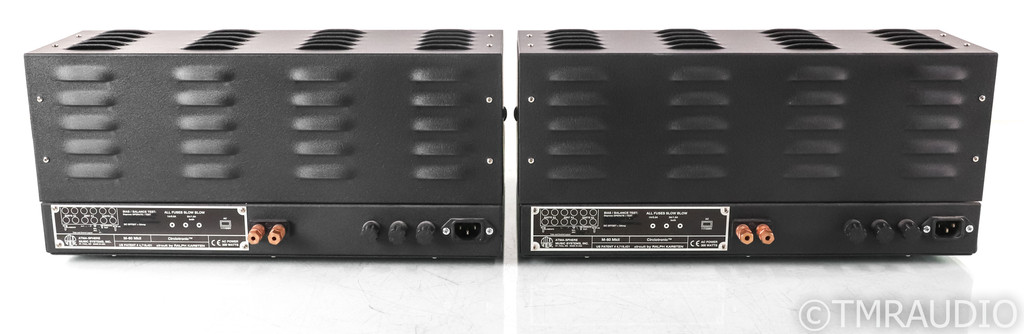 Atma-Sphere M60 Mk.II.2 OTL Tube Mono Power Amplifiers; M-60 Mk II.2; Upgrades
