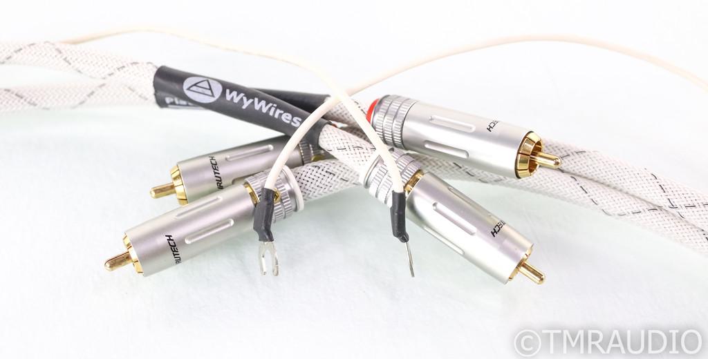 WyWires Platinum Series Tonearm Cables; 1.2m Pair