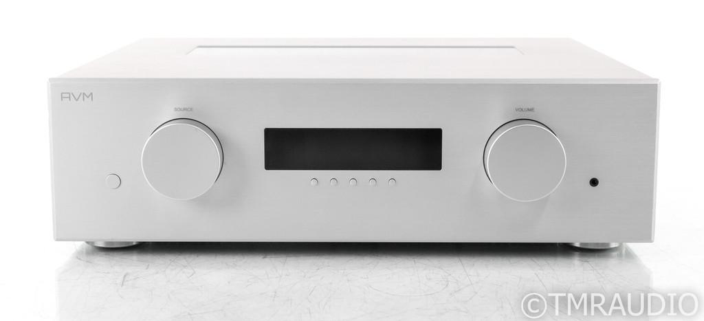 AVM Evolution PA 5.2 Stereo Tube Preamplifier; PA5.2; Remote; Silver