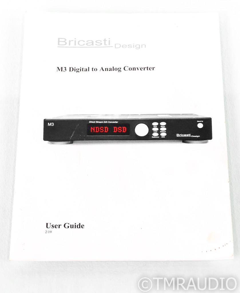 Bricasti Design M3 DAC; D/A Converter; Network Card; Roon Ready (SOLD)