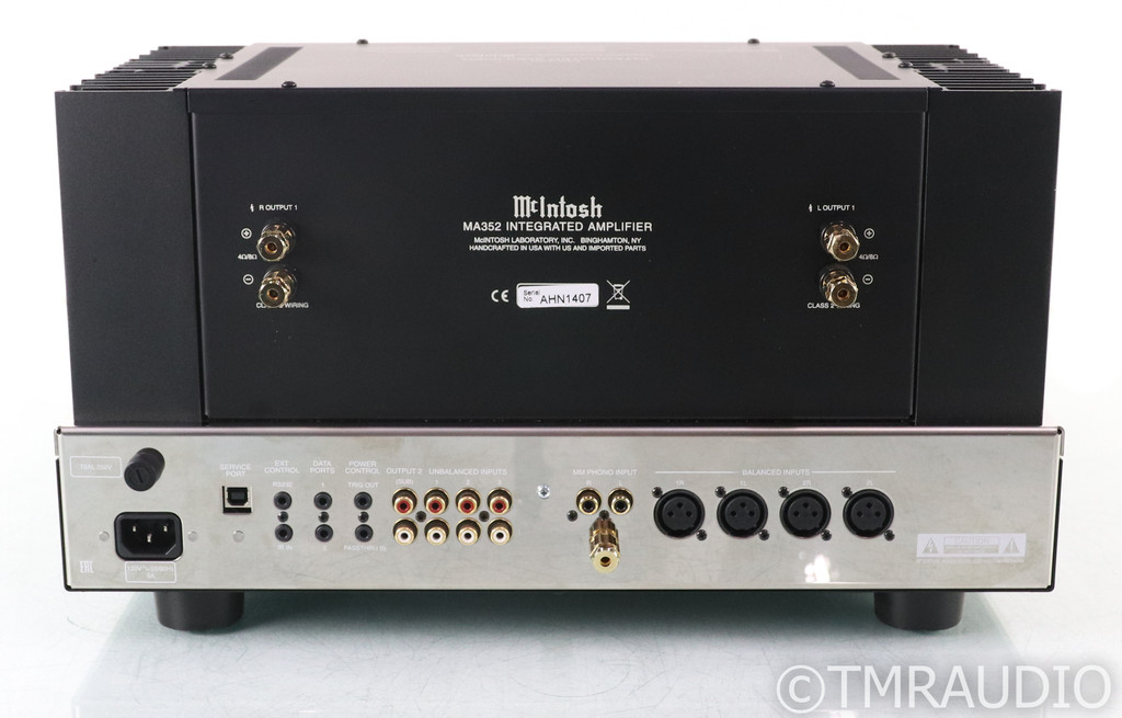 McIntosh MA352 Stereo Tube Hybrid Integrated Amplifier; MA-352; MM Phono; Remote