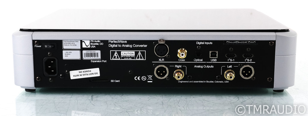 PS Audio PerfectWave DirectStream DAC; D/A Converter; Roon Ready; Remote (Used)