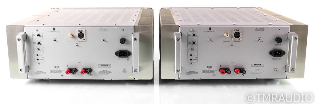 Parasound Halo JC 1 Mono Power Amplifier; JC-1; Silver Pair