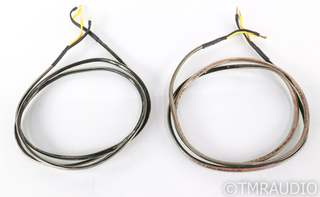 Analysis Plus Oval 12 Speaker Cables; 8ft Pair (SOLD)