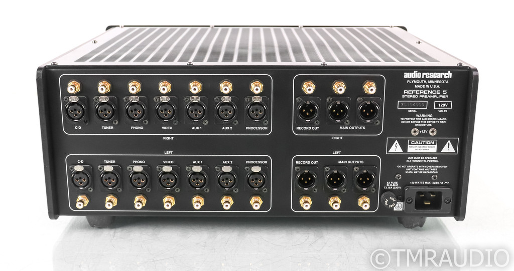 Audio Research Reference 5 Stereo Tube Preamplifier; REF5; Remote