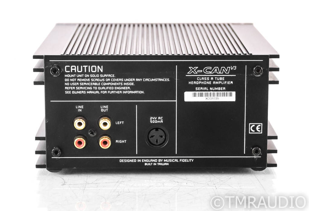 Musical Fidelity X-CAN v3 Headphone Amplifier; X Can 3 w/ X-PSU v3 Power Supply