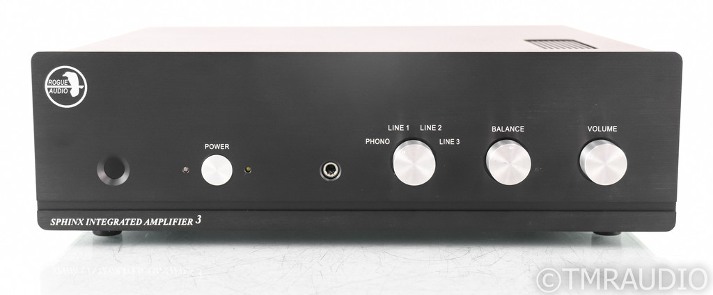 Rogue Audio Sphinx V3 Stereo Tube Hybrid Integrated Amplifier; Sphinx-3 (No Remote)