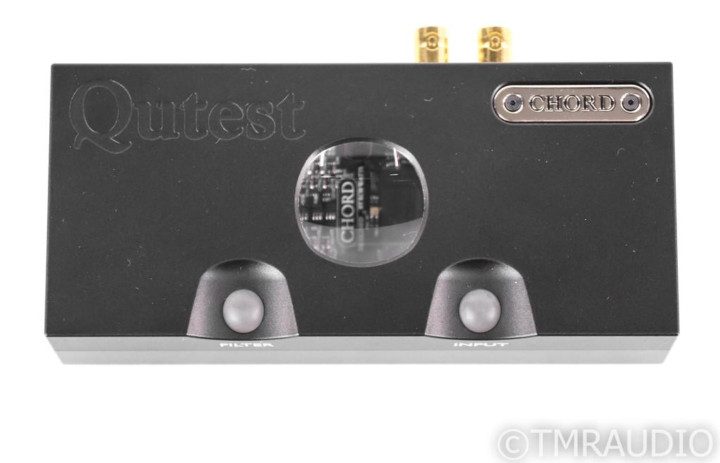 Chord Electronics Qutest DAC; D/A Converter; DSD; Black