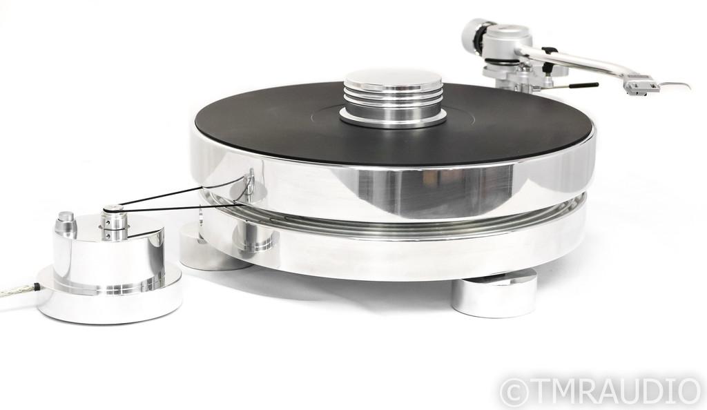 "Transrotor Max Turntable w/ 9"" TR 800-S Tonearm; Low Hours (No Cartridge)"