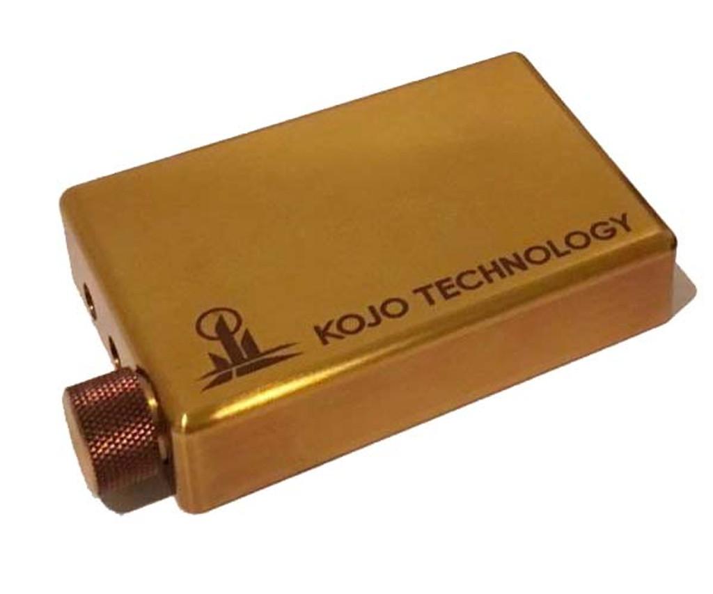 Kojo Technology KM01 Fire Gold Portable Headphone Amplifier; Battery Powered (New)