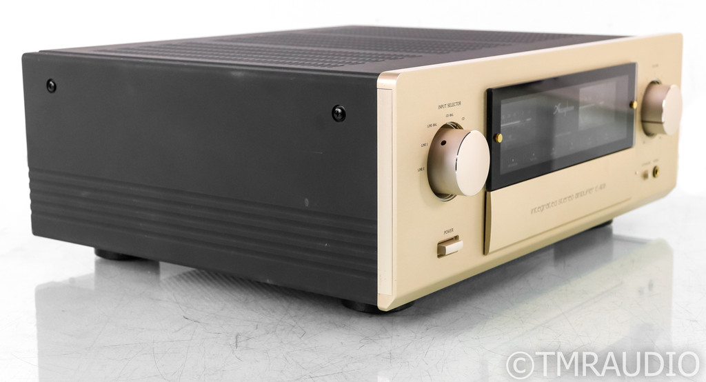 Accuphase E-408 Stereo Integrated Amplifier; E480; Remote; DAC; MM Phono; 230V