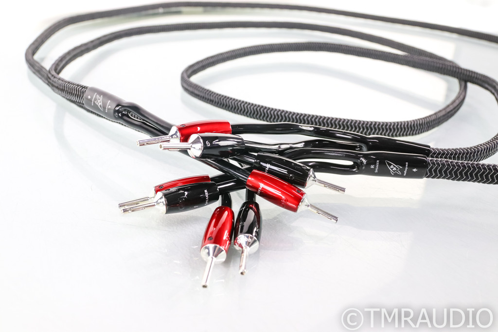 Audioquest Rocket 44 Full Range Speaker Cables; 8ft Pair (Open Box)